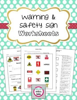 safety signs worksheets for kindergarten 1000 images about autism safety on pinterest free. Black Bedroom Furniture Sets. Home Design Ideas