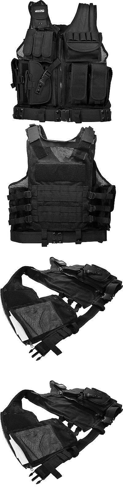 Other Tactical and Duty Gear 177902: Barska Bi12154 Vx-200 Customizable Loaded Gear Black Tactical Vest, Left Hand -> BUY IT NOW ONLY: $61.15 on eBay!