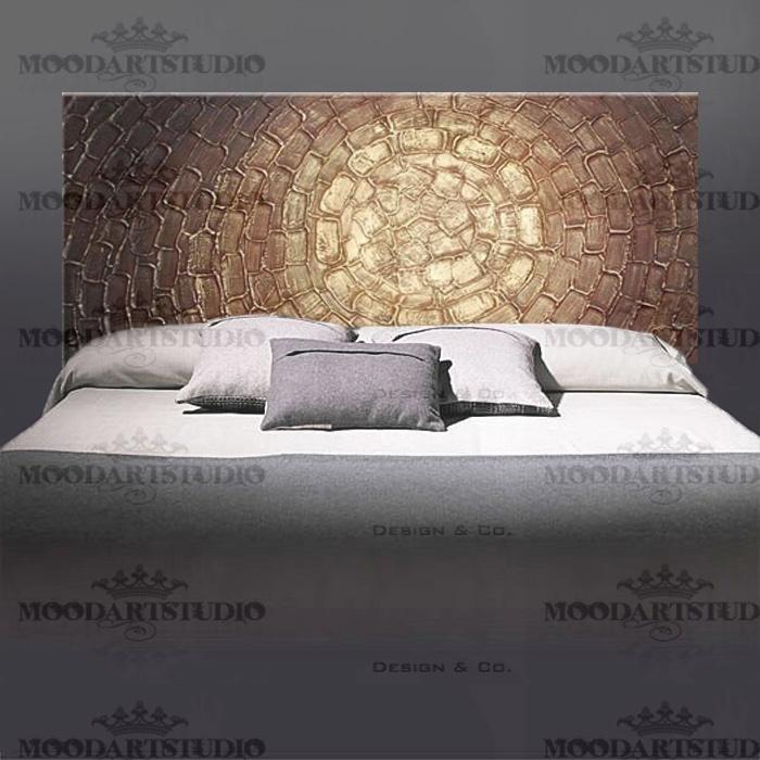 33 best cabeceros de cama originales images on pinterest - Cabecero cama pintado ...