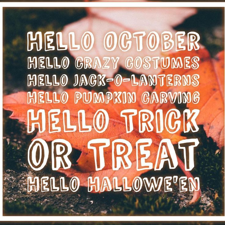 Pinch, Punch, First of the Month... My second favourite month  #hellooctober #octoberwish #halloween #pinchpunchfirstofthemonth #october