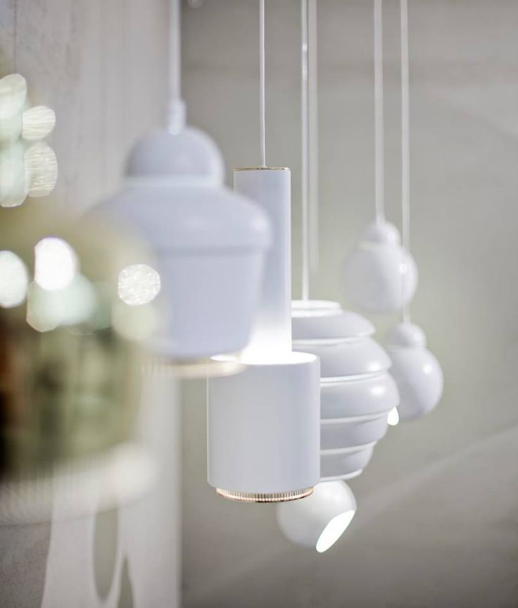 Dark December is upon us and it's time to turn on the lights! Artek's lighting range includes Alvar Aalto's (from left to right) A330S, A330, A110, A331 and A338. Luckily all come with nicknames: the Golden Bell, Hand Grenade, Beehive and Bilberry. Which one is your favourite?