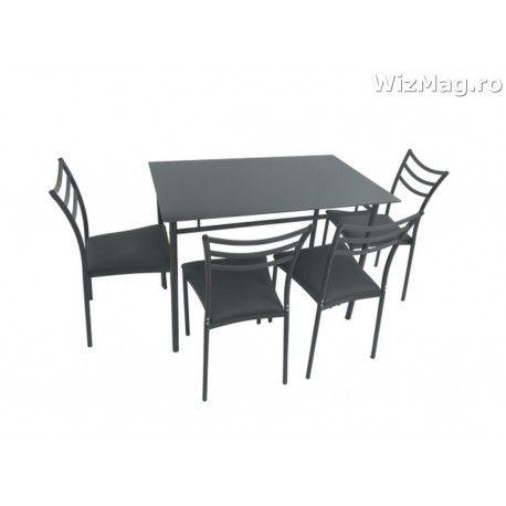 Masa bucatarie WIZ cu scaune mbs-8