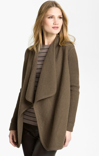 DEAL OF THE WEEK: VINCE Draped Sweater/Jacket. REG $423; NOW $285 {33% Savings}. Email lesley@thestylehunter.com if you are interested in purchasing