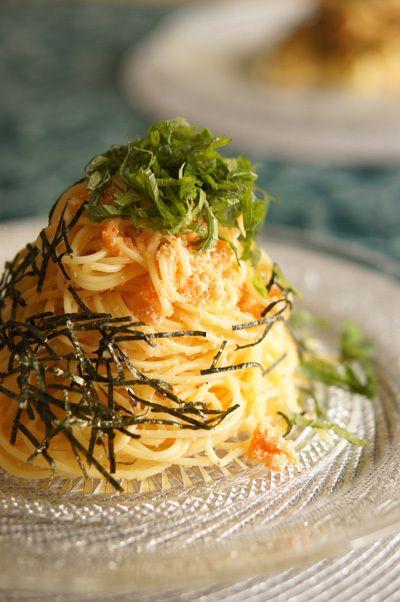 明太子パスタ【レシピ】 これ以上カンタンなパスタを、私は知りません ...