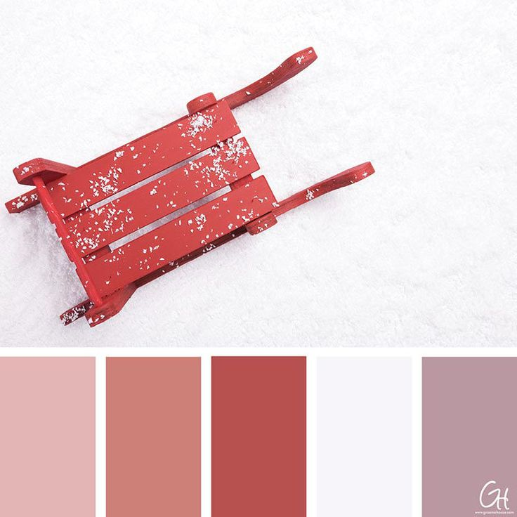 11 best blog graeme haase design images on pinterest 10 winter inspired color palettes red sled fandeluxe Image collections