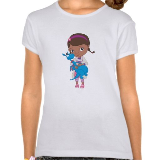 Doc McStuffins Holding  Stuffy Tees