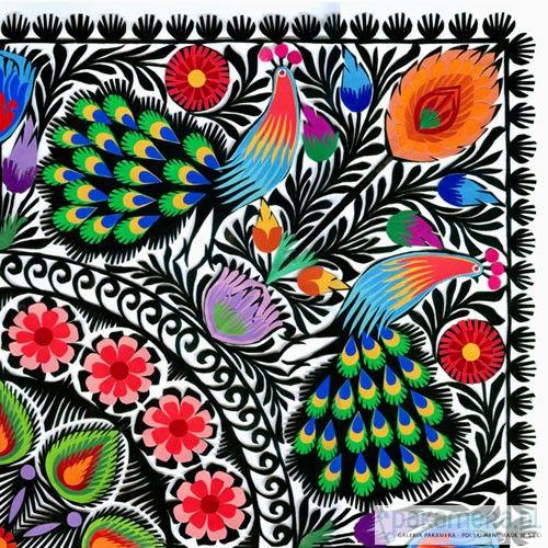 PAWIE mexicanos (mega wycinanka) - na ścianę - Pakamera.pl