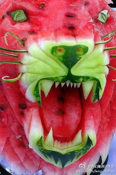 Melon 'Leopard' - how COOL is this?!!!!
