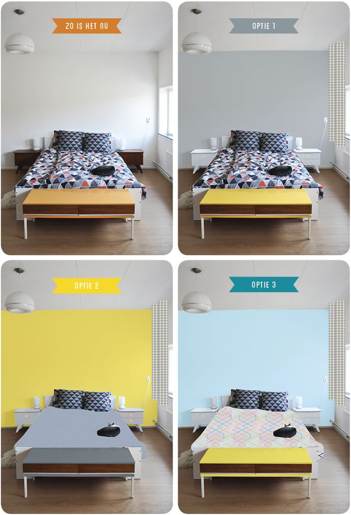 Mini slaapkamer make over in photoshop home inspiration pinterest minis - Verf kleur keuzes voor zitplaatsen ...