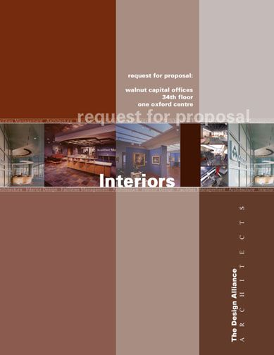 Did The Brown With An AWC Proposal · Page DesignCover PagesProposals Presentation
