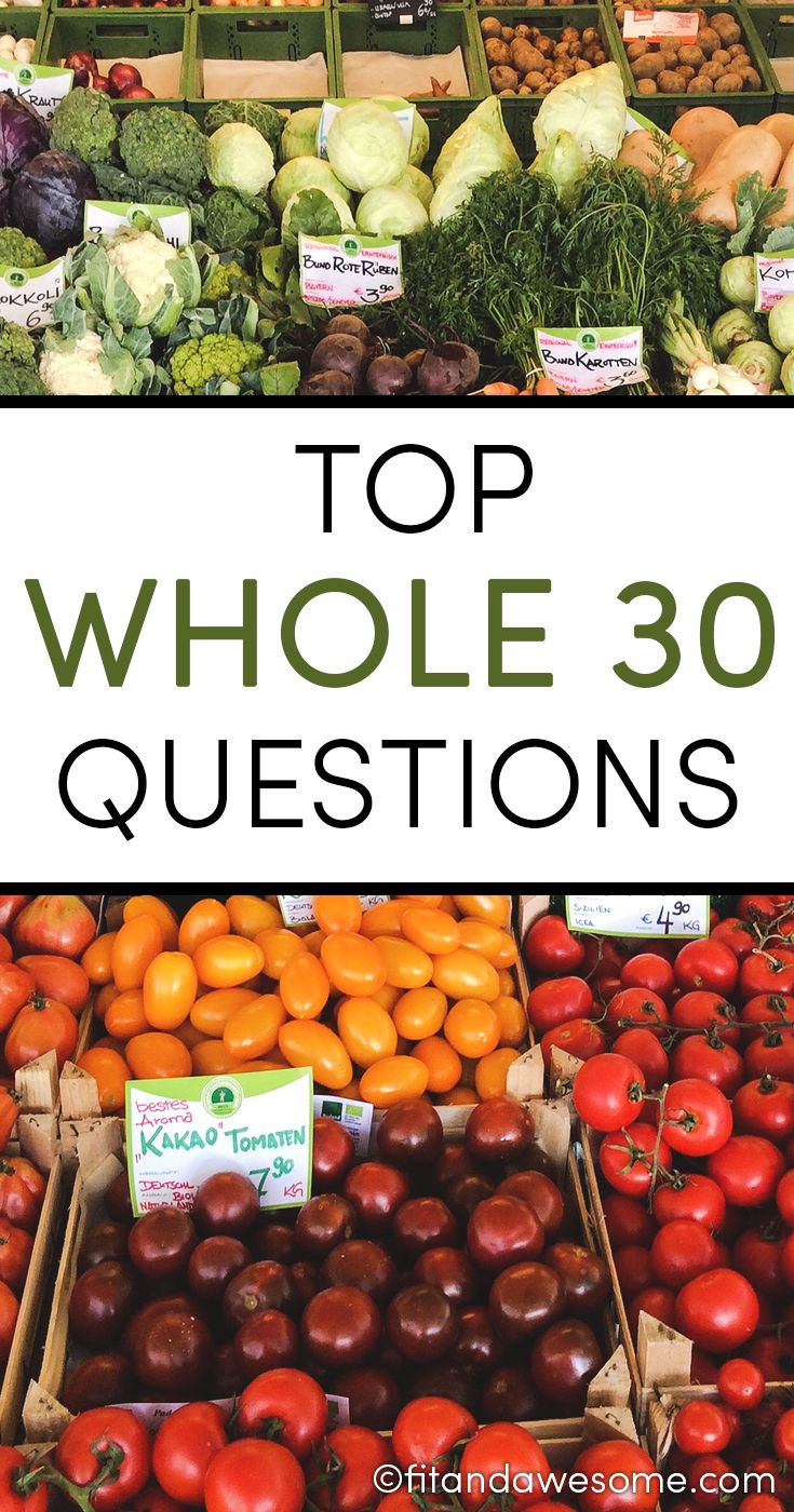 Top Whole 30 Questions - This is a list of FAQs I've received from readers over the years and decided to compile them all in one place. Enjoy!