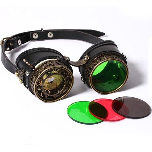 Gafas Steampunk  de Piel