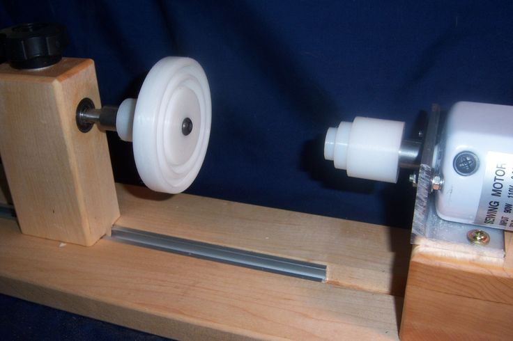 "This Motorized Spool Winder is made of a combination of Hard Maple and Baltic Birch and measures 18"" long and 5"" wide and @ 7 1/2"" tall, all exposed edges are rounded over. The unit is finished in 100% Tung Oil to give it a pleasant sheen and keep it from drying out. The left support cone is spring loaded (concealed spring inside the left cone point) to keep constant pressure on the bobbin you are winding. The table clamps have been upgraded to a quality 3"" C CLAMP which holds the..."