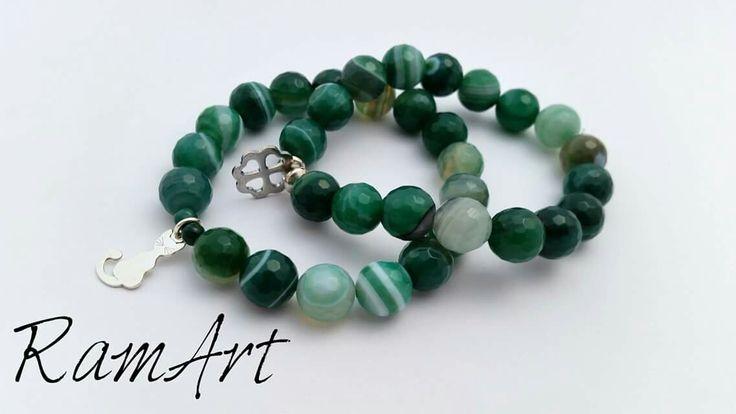 Bransoletki z agatów  #ramart #bransoletka #bracelet #handmade #forsale #agat #silver #sterlingsilver #srebro #niezchinzpasji