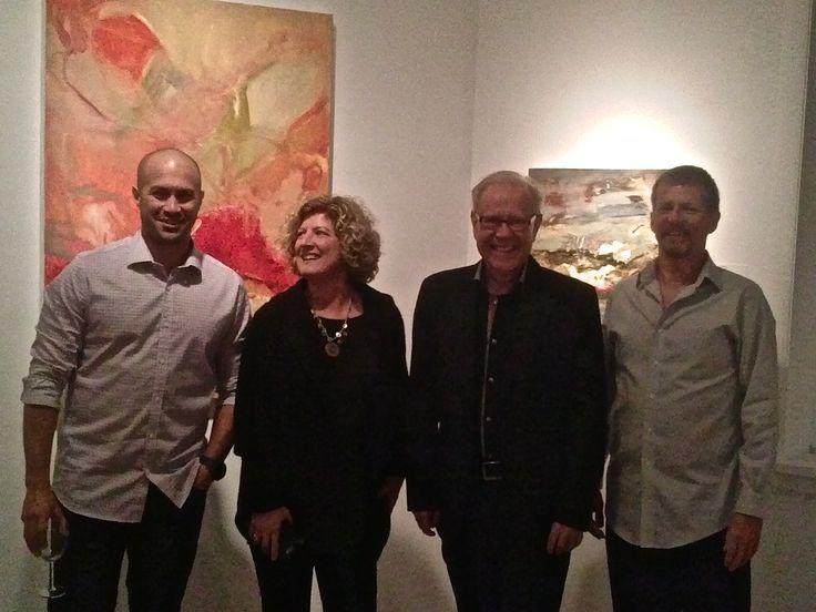 """A Sense of Place"" opening at Gurevich Fine Art in Winnipeg, Canada."