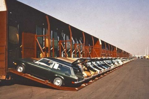 Vert-A-Pac train cars kept your Chevy Vega's price in check