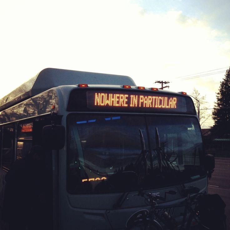 Taking the bus to nowhere... - Imgur