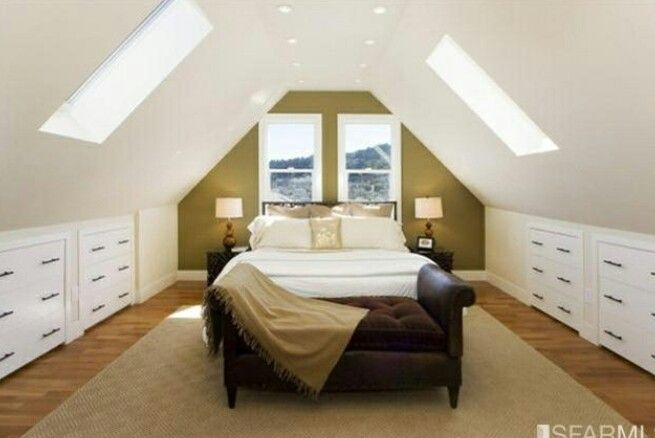 51 best 2nd floor cape cod design ideas images on for Attic bedroom storage