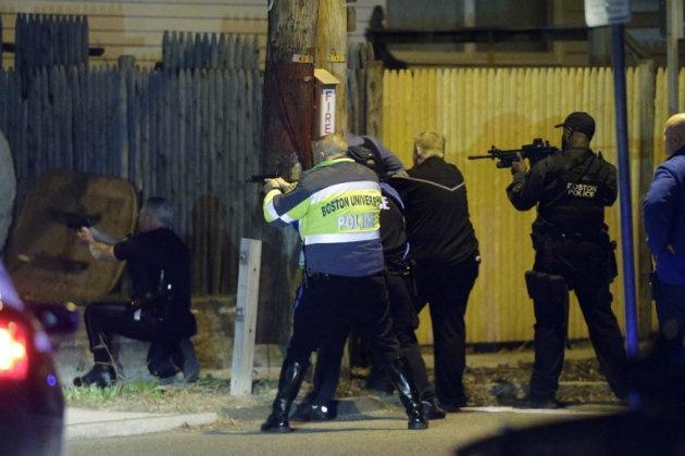 Boston Marathon bomber manhunt: One suspect dead, second on the run, police say