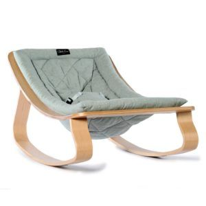 The Levo baby rocker is a modern take on an old fashioned rocking chair. Elegant, stylish it looks great and is for parents who want style and substance.
