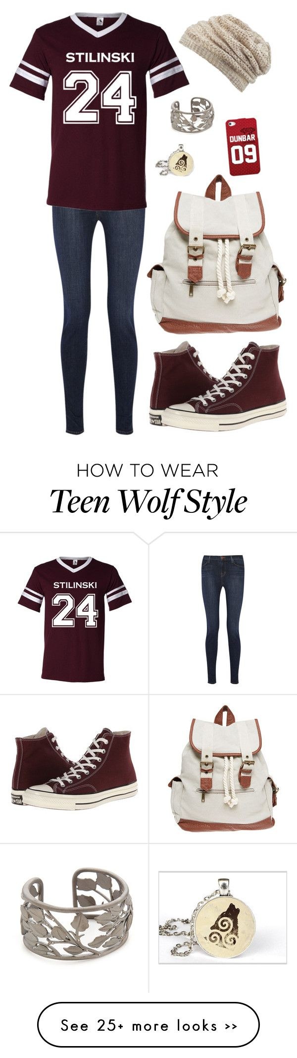 """Untitled 416"" by leo-s-fire on Polyvore featuring J Brand, Converse, Wet Seal, Jamie Wolf and maurices"