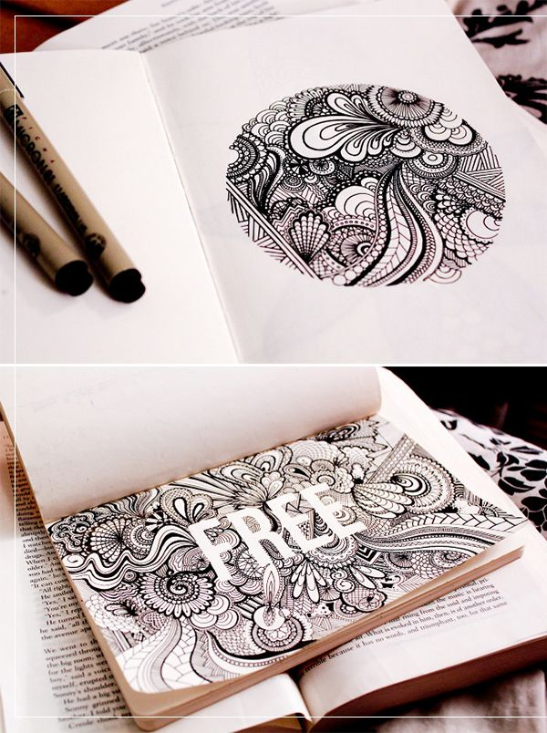 Das mit den Buchstaben auf jeden Fall mal ausprobieren. danielle aldrich's sketchbook | korywoodard.com