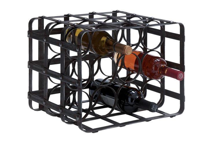 Cole & Grey 12 Bottle Tabletop Wine Rack | Wayfair