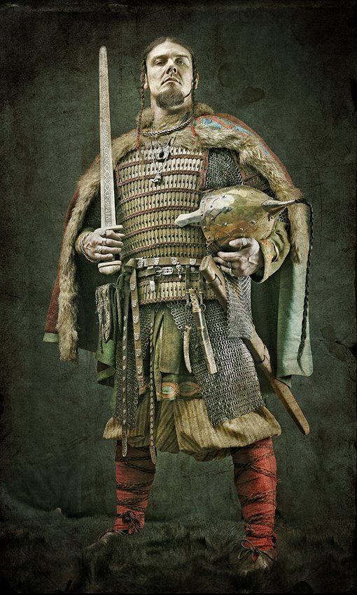 Not positive, but looks like Rus, or some other Eastern European viking type from around the 10 century.