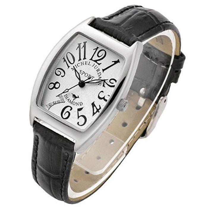 [ミッシェル・ジョルダン] michel Jurdain 腕時計 カサブランカ MJ1010L-BK レディース [正規輸入品]