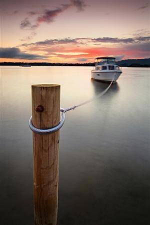 Bobbing Boat. Woy Woy, Australia.