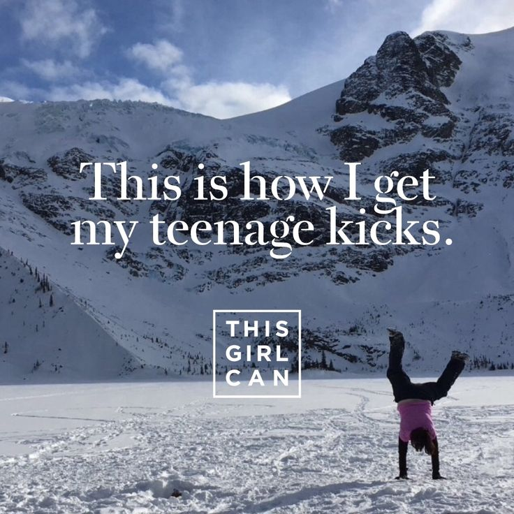 Wiggling, sprinting, catching your breath - however you get active, we want to see it! Upload your snaps to the #ThisGirlCan app using your mobile or tablet.
