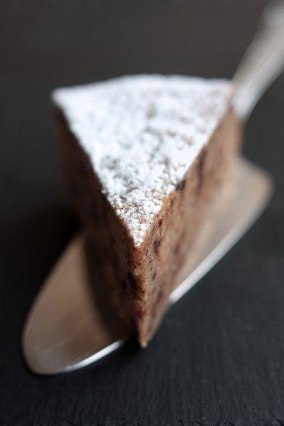 Maroni-Kuchen mit Schokolade und Nougat