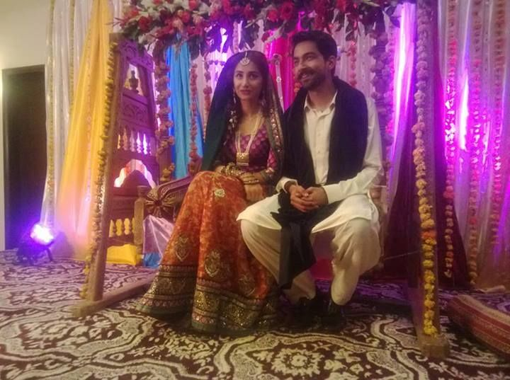 Hira Tareen And Ali Safina Mehndi Pictures