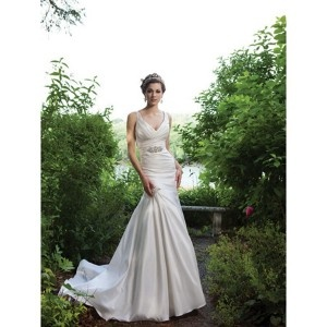 Sexy Fall Outdoor Wedding Dress: Dresses Wedding, Wedding Dressses, Mermaids Wedding Dresses, Court Training, Bridal Gowns, Gardens Wedding, V Neck, Vneck, Beaches Wedding Dresses