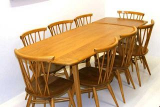 Ercol Furniture From retroandvintagefurniture.Ercol Dining Table and chairs set from Hamilton & Co-London -Uk South East.Ercol Sideboards.