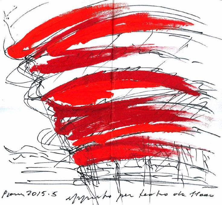 Image 5 of 17 from gallery of 17 Napkin Sketches by Famous Architects. Massimiliano Fuksas. Image Courtesy of NewSchool and AIAS San Diego