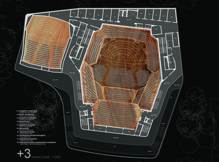 architecture plans _ Sinfonia Varsovia Concert Hall / Hermanowicz Rewski Architekci