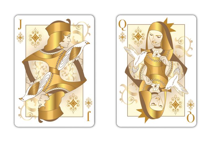 """""""THE OTHER KINGDOM"""" Collector's Playing Cards by Natalia Silva — Kickstarter"""