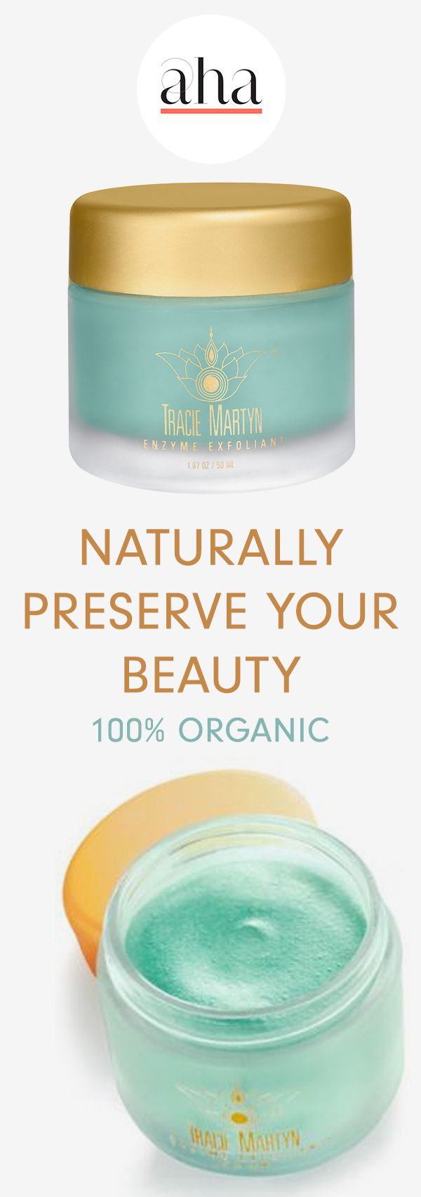 Tracie Martyn -  All-natural, luxury skin care products that deliver dramatic, instant results. Trusted by A-list celebs like Angelina Jolie and Anne Hathaway. BUY NOW: http://www.ahalife.com/product/149000005455/enzyme-exfoliant?medium=ads&utm_source=Pinterest&utm_campaign=TracieMartyn_iOS&rw=0