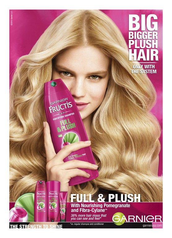Garnier Fructis Haircare Advertising Haircare