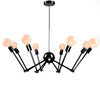 Luminaire lustre vintage industriel led lampe plafonnier for Ampoule suspension luminaire