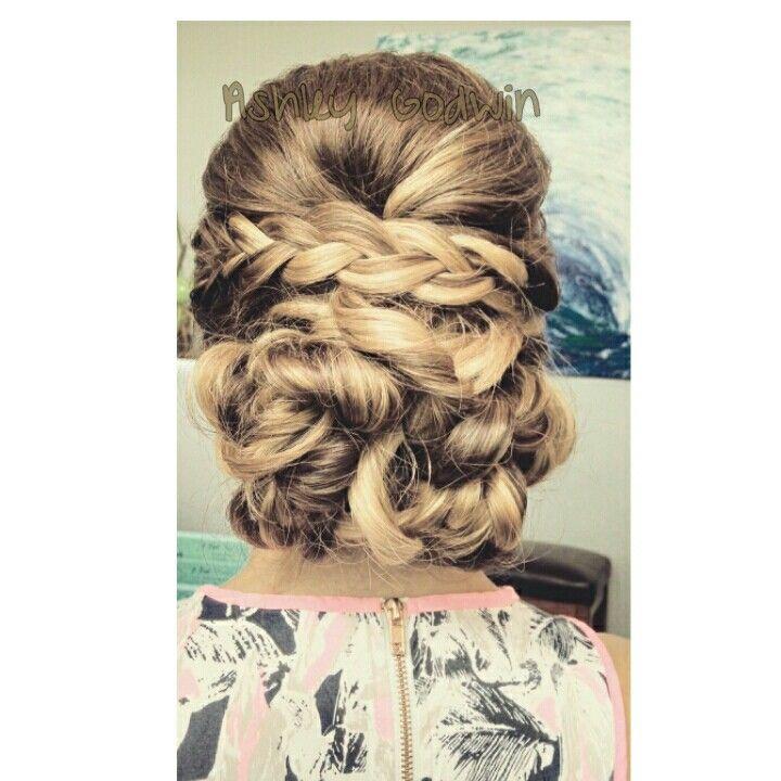 Dall Hair Salon, Houston, TX braided updo, braided wedding hair ...