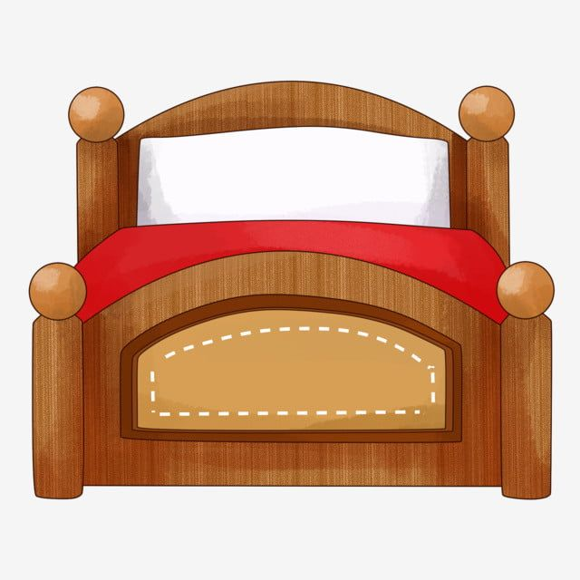 Brown Queen Bed Wooden Bed Boutique Furniture Bed Cartoon Illustration Cartoon Hand Drawn Furniture Illustration Beautiful Furniture Png Transparent Clipart Wooden Bed Bed Furniture Beautiful Furniture