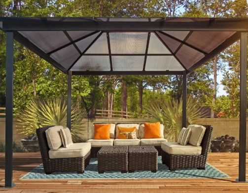 17 Best images about Gazebo Re do on Pinterest   Shade ...