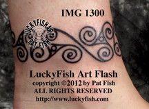 Iron Age La Tene Band Celtic Tattoo Design 1