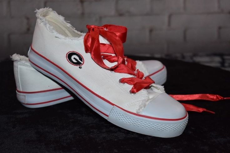 Georgia Bulldogs Spirit Ready College Edition Canvas Shoe Georgia Size 10 Women #SpiritReady #Comfort