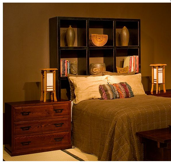 The Black Display Shelf Helps Create A Cozy, Romantic Yet Strong Bedroom  Look. This