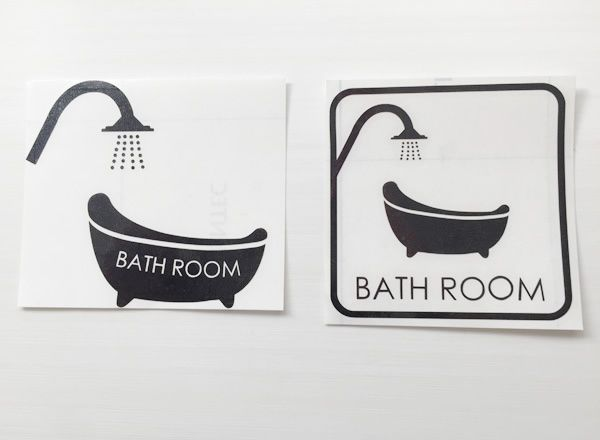 バスルームウォールステッカー バスルーム 海外バスタブ お風呂
