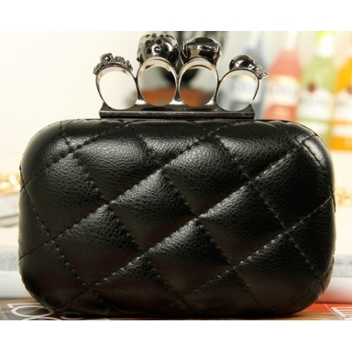 Solid Black Zipper PU Fashion Bags $8.60