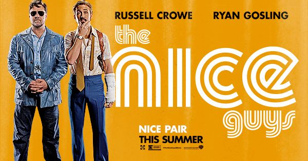 Down-on-his-luck private eye Holland March (Ryan Gosling) and hired leg-breaker Jackson Healy (Russell Crowe) must work together to solve the case of a missing girl and uncover a shocking conspiracy that reaches up to the highest circles of power. THE NICE GUYS in theaters May 20, 2016.